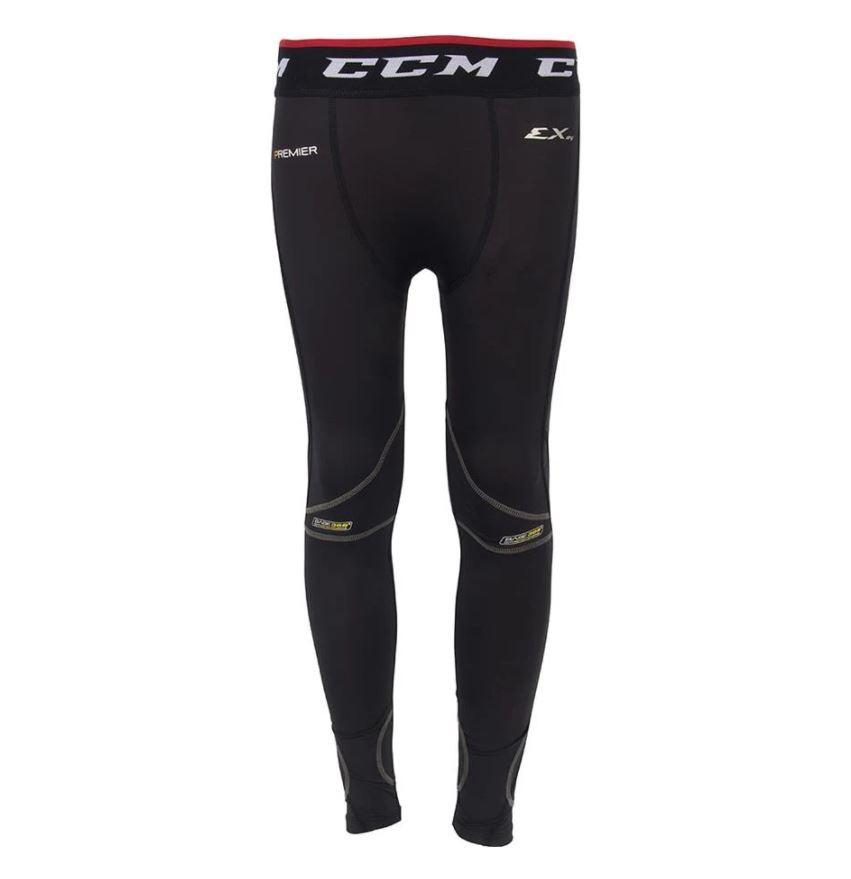 CCM Goalie Cut Resistant Senior Compression Pants