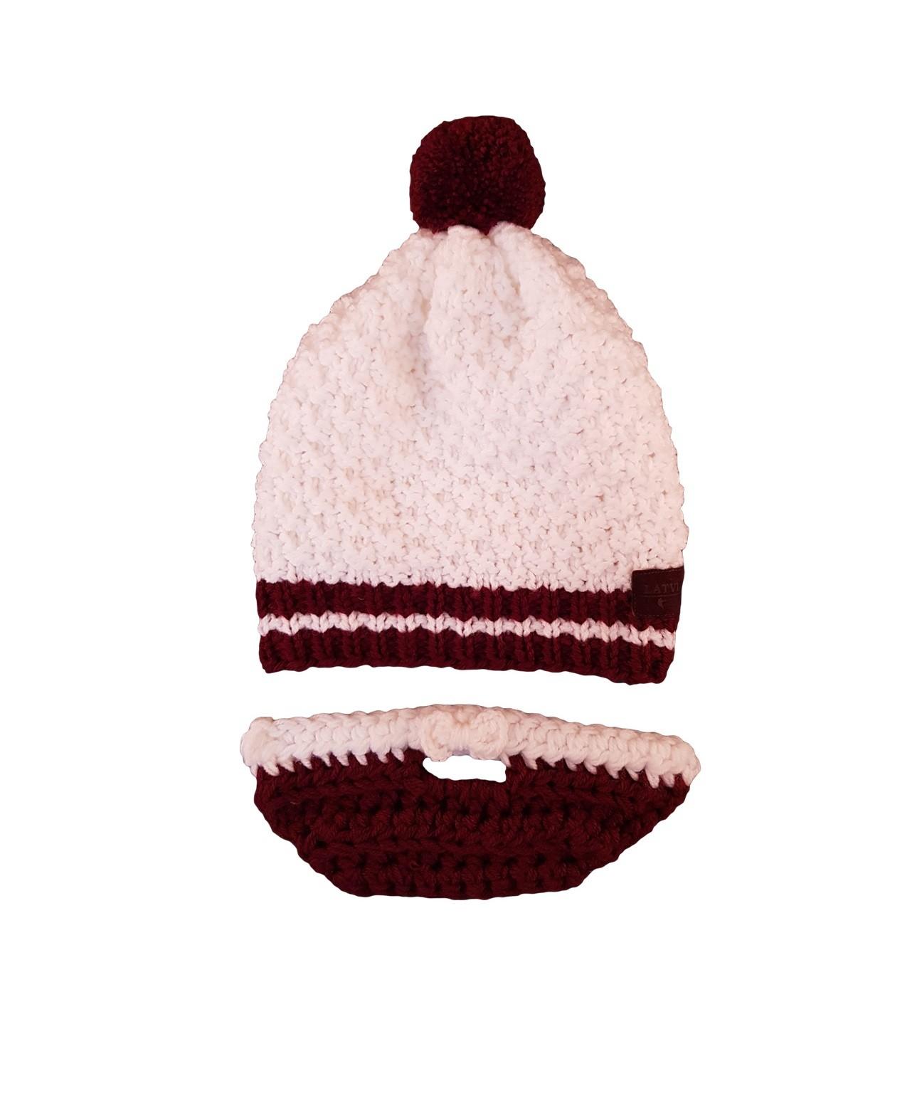 HOKEJAM.LV Knitted Winter National Hat