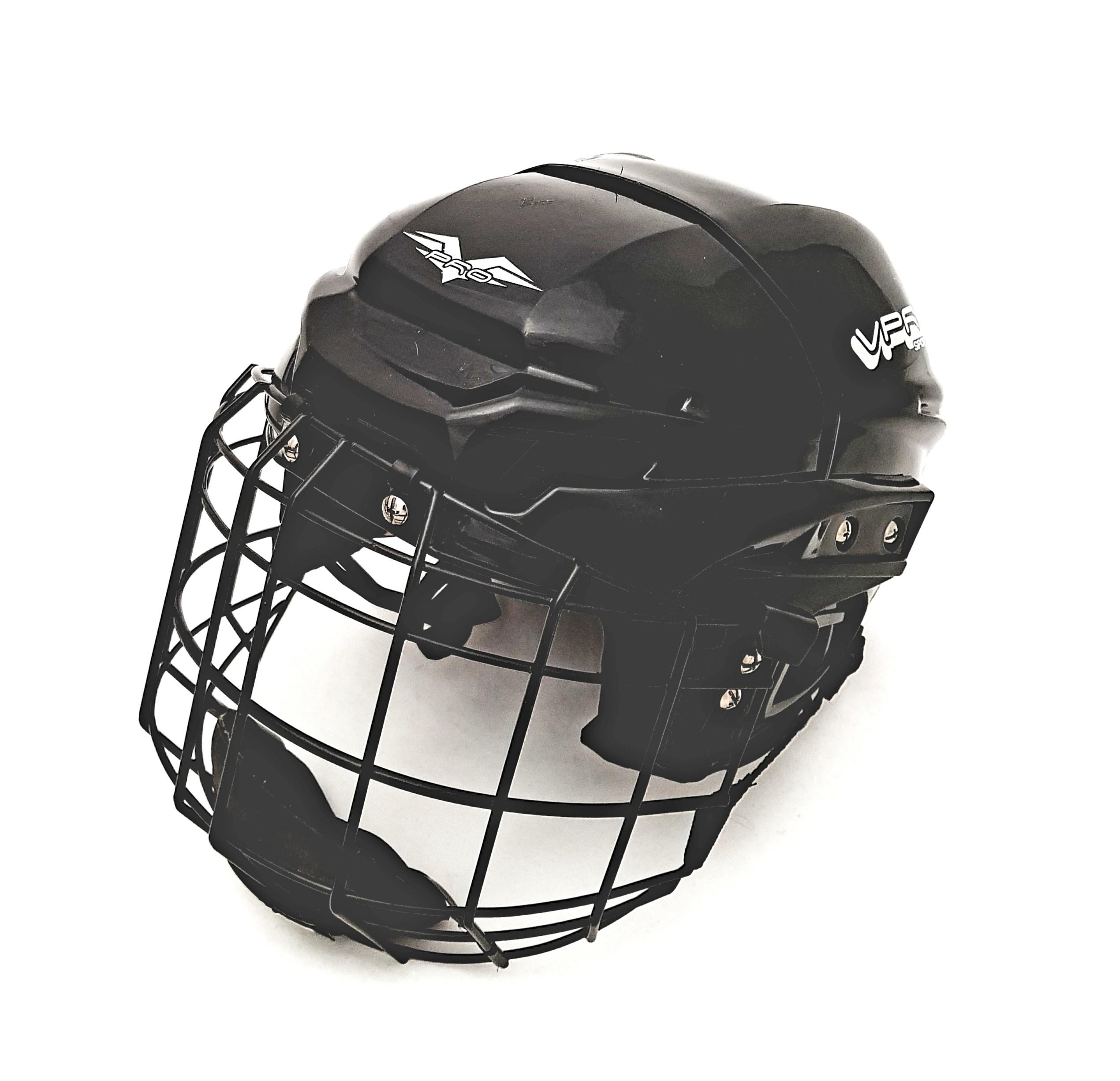 Demo VPRO Hockey Helmet Combo
