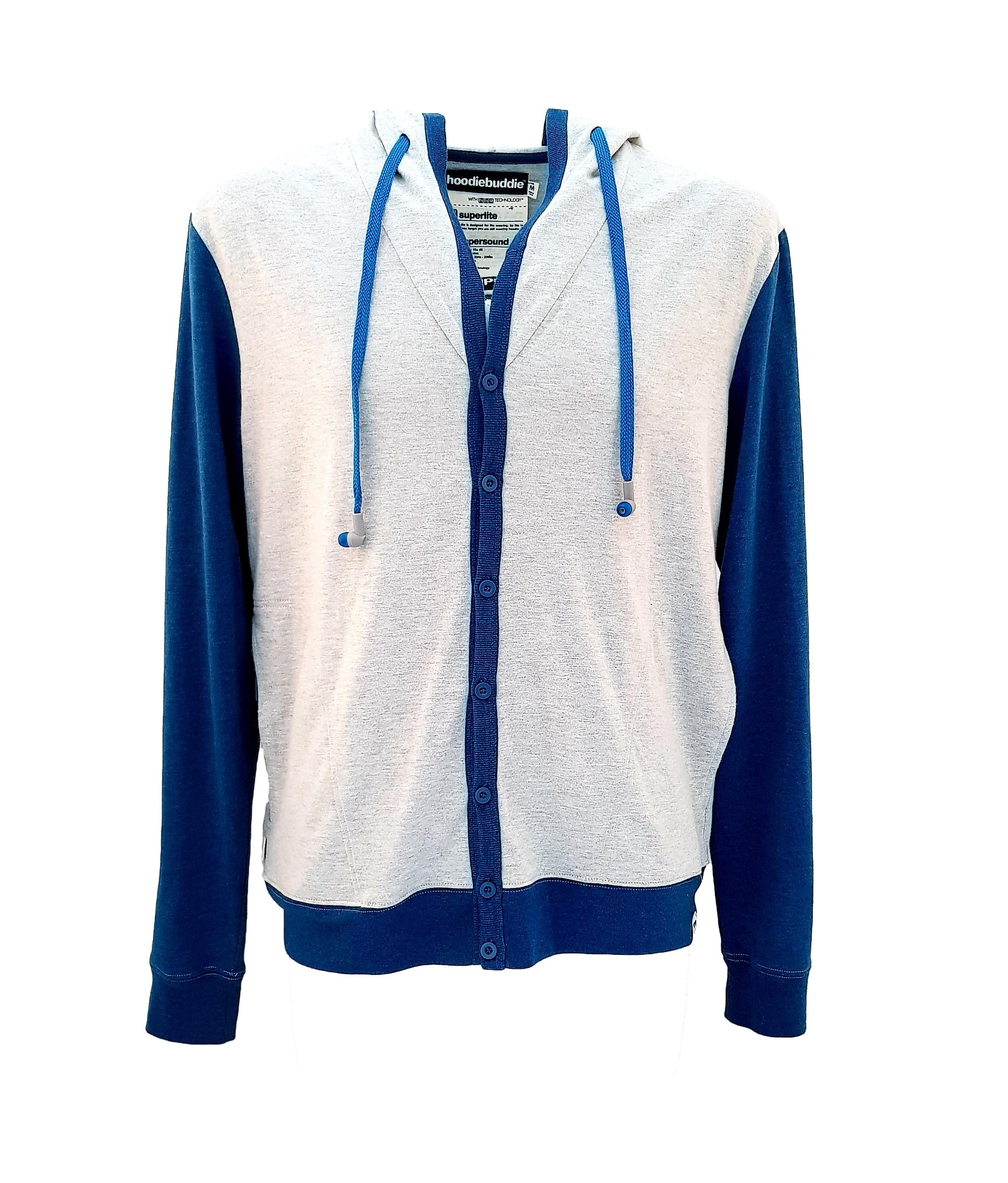 HOODIE BUDDIE Senior Button Up Jacket Variation#2