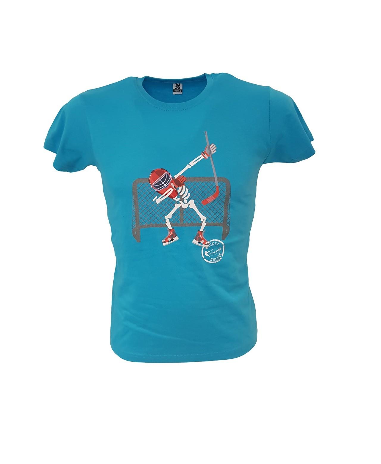 HOKEJAM.LV Skeleton Goalie Youth T-Shirt