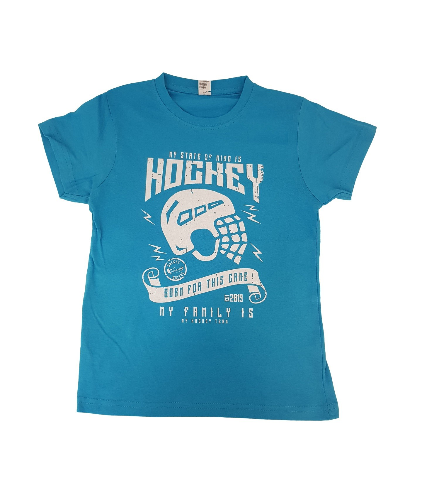 HOKEJAM.LV My State Of Mind Is Hockey Youth T-Shirt