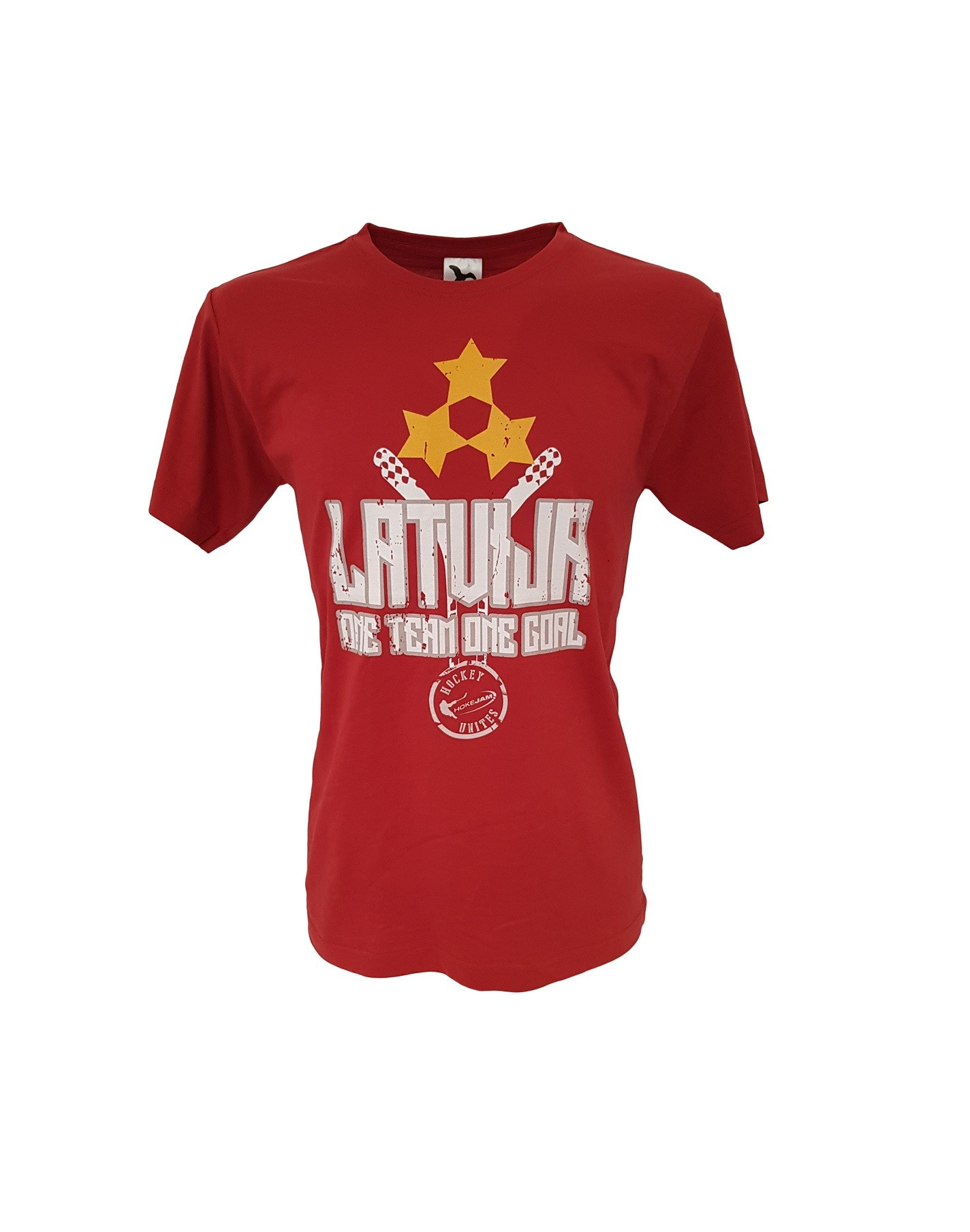 HOKEJAM.LV Latvija One Team One Goal Youth T-Shirt