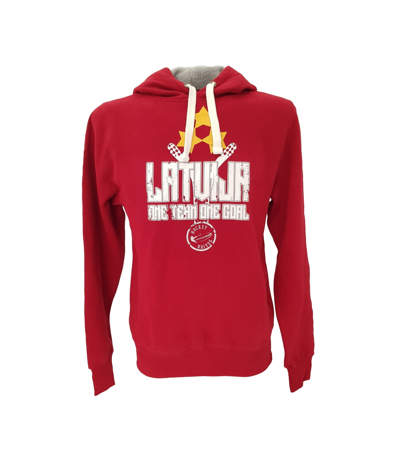 HOKEJAM.LV Latvija One Team One Goal Adult Hoodie