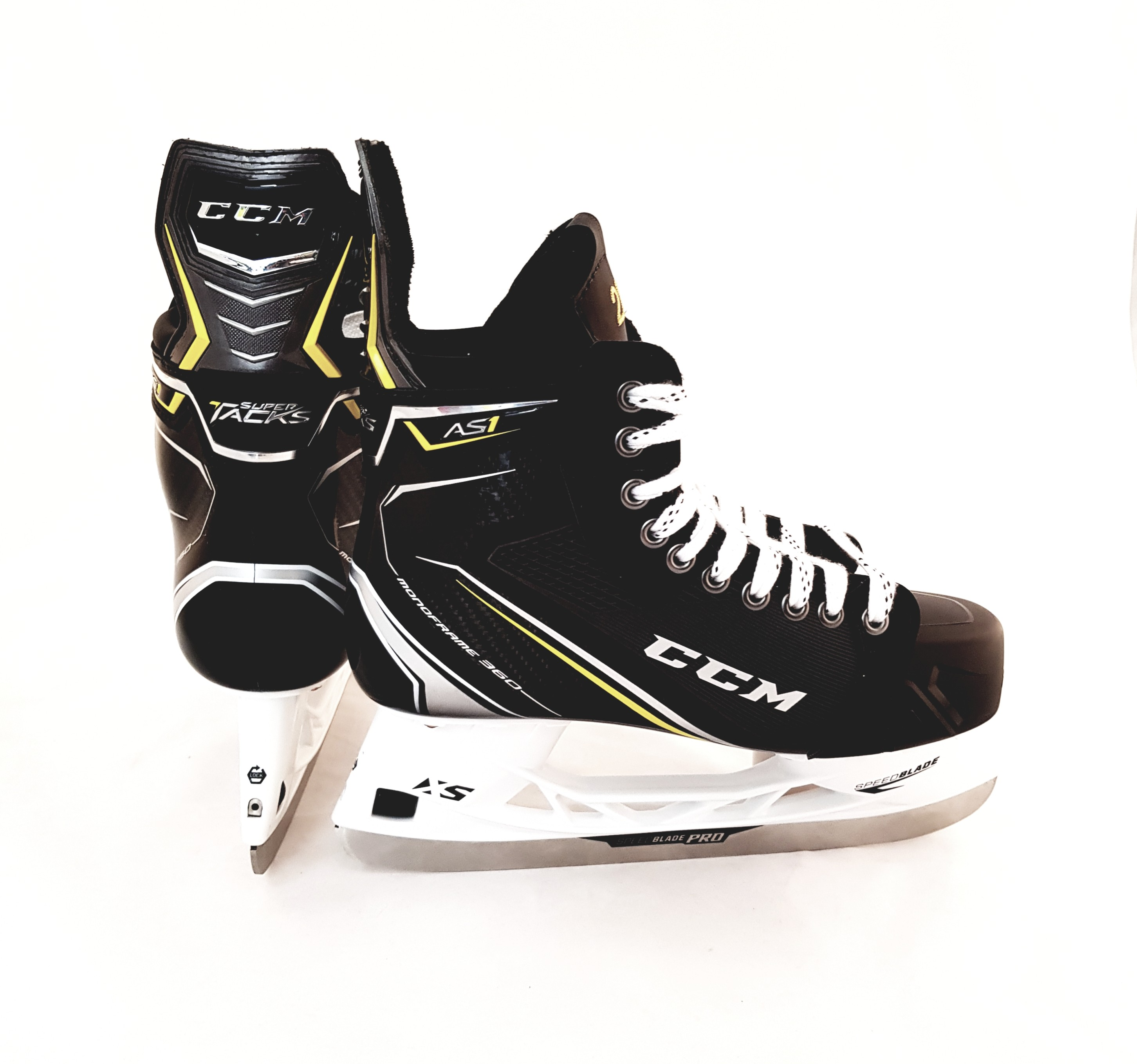 CCM Super Tacks AS1 PRO STOCK Senior Ice Hockey Skates