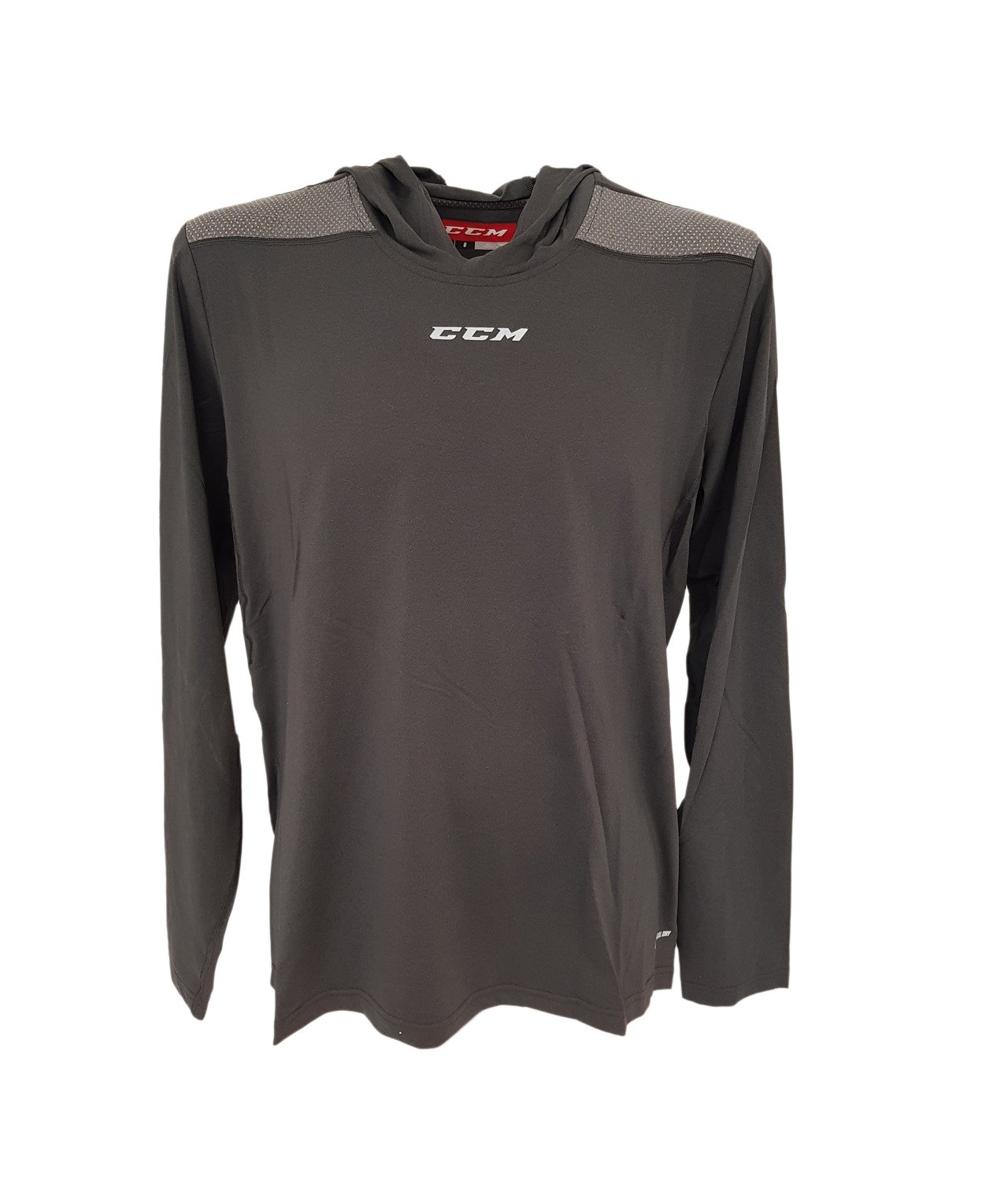 CCM Dynamic Ls Hooded Tee Adult Sweatshirt