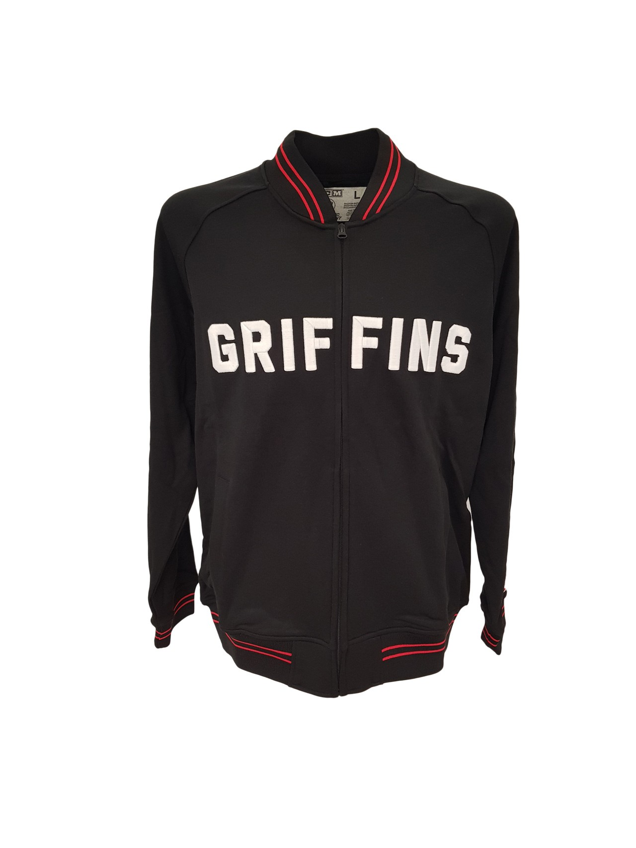 CCM Griffins Vintage Track Adult Full Zip Jacket