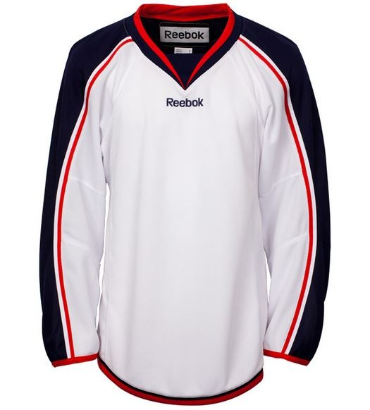 Reebok Columbus Blue Jackets Edge Adult Hockey Jersey Away