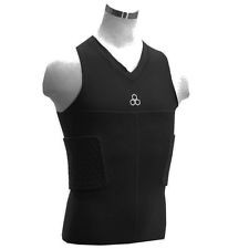 MCDAVID V-Neck Tank Top with Rib and Spine Hexpads 7860