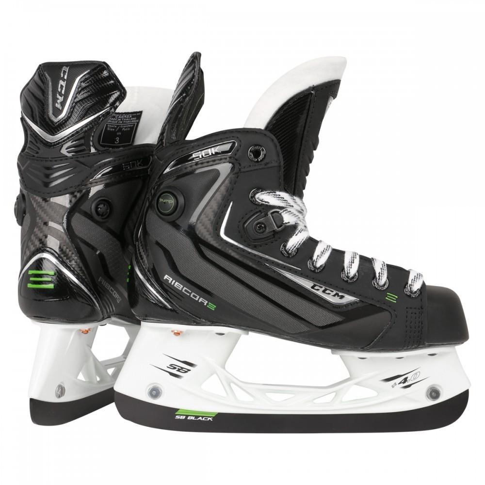 CCM Ribcor 50K PUMP Junior Ice Hockey Skates