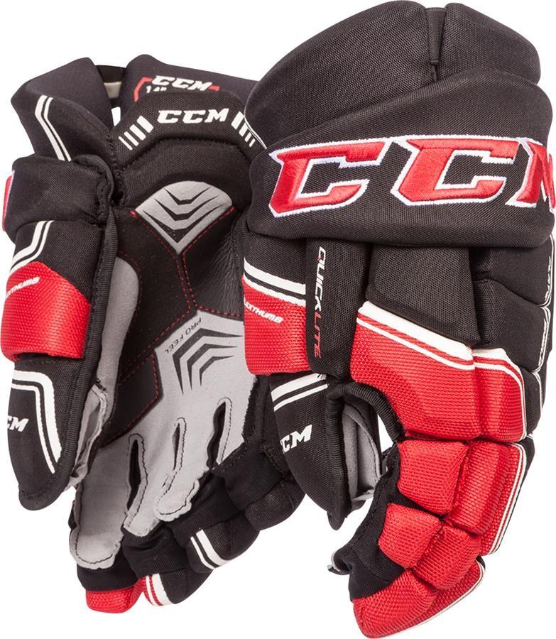 CCM QuickLite QLT Senior Ice Hockey Gloves