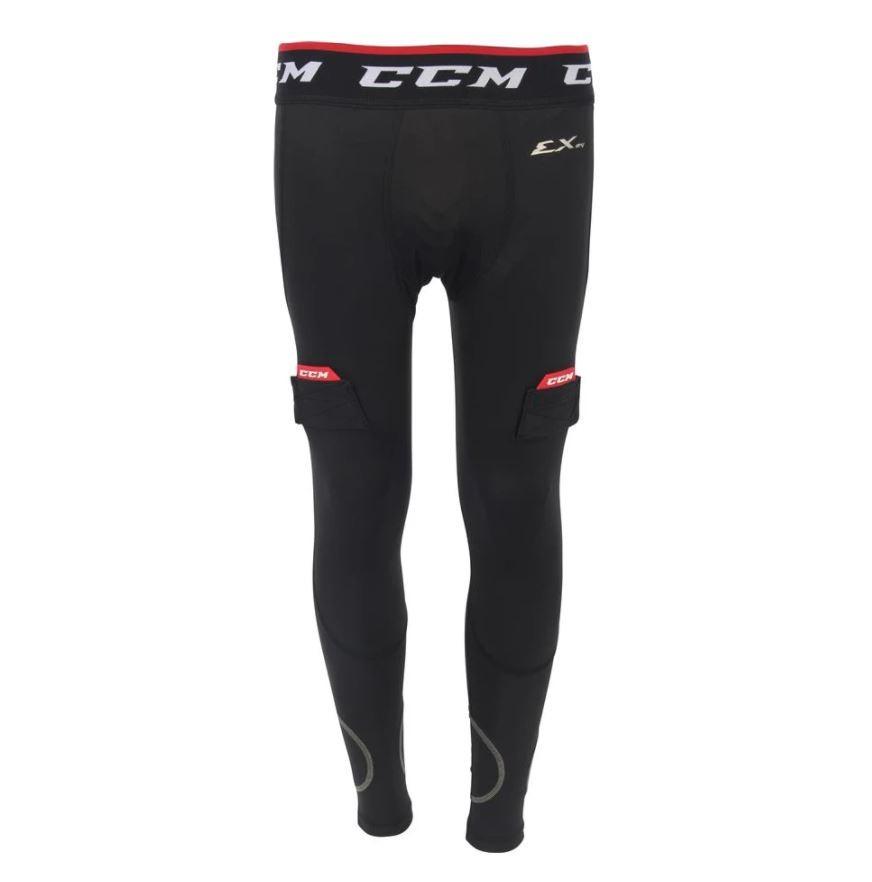 CCM Cut Resistant Junior Compression Pants with Jock