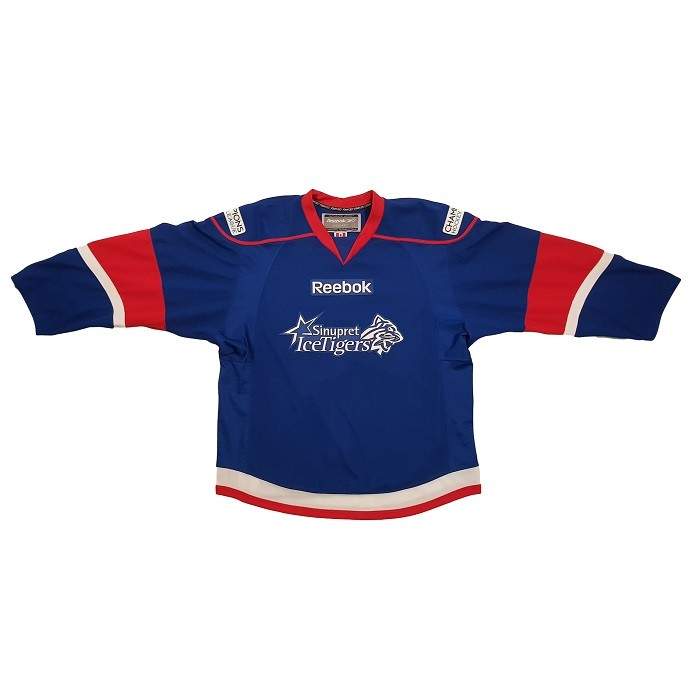 REEBOK Sinupret Ice Tigers Champions Hockey League Senior Authentic Jersey