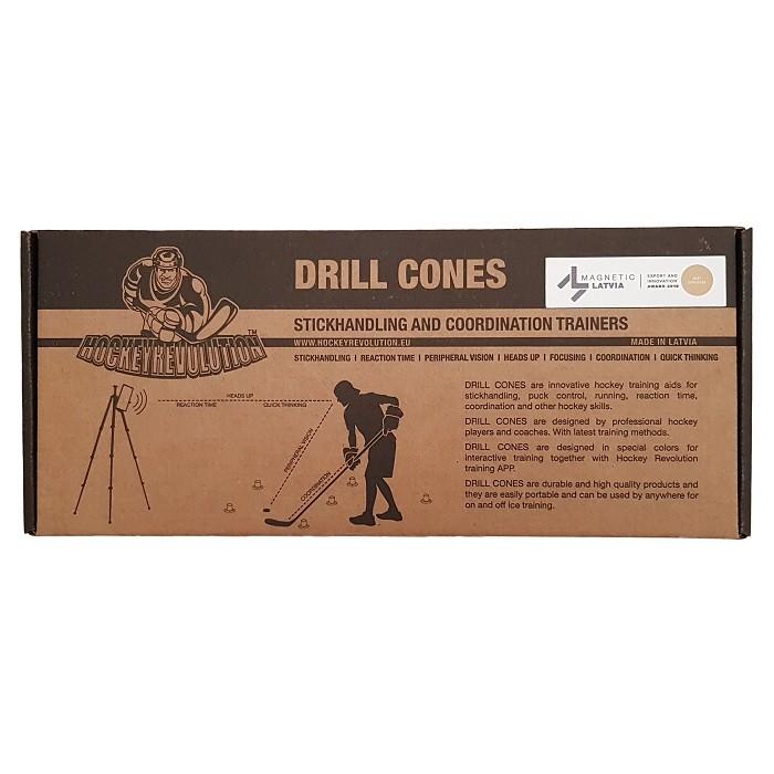 Drill Cones Stickhandling Training Aid