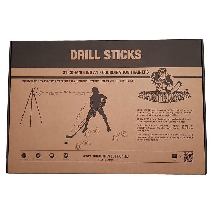Drill Sticks Stickhandling Training Aid