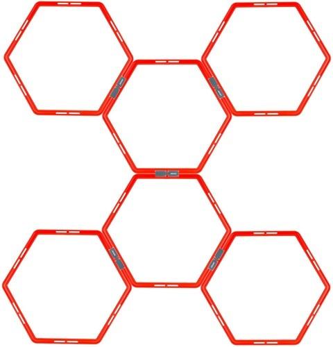 AVENTO Agility Grid Hexagon 6-piece