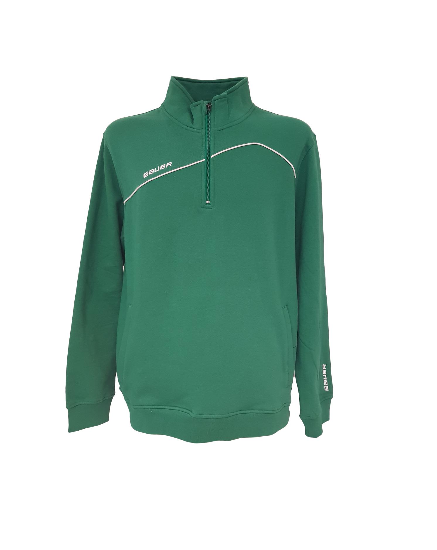 Bauer Team Core 1/4 Adult Zip Sweatshirt