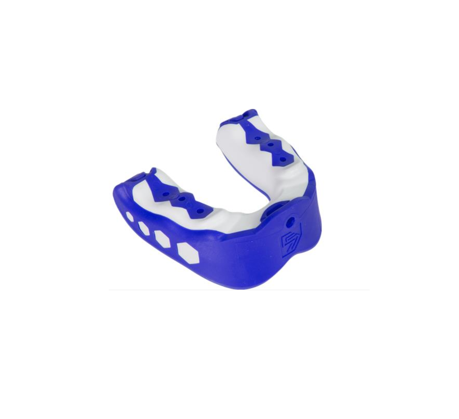 SHOCK DOCTOR Youth Gel Max Mouth Guard with Blue Raspberry Flavor