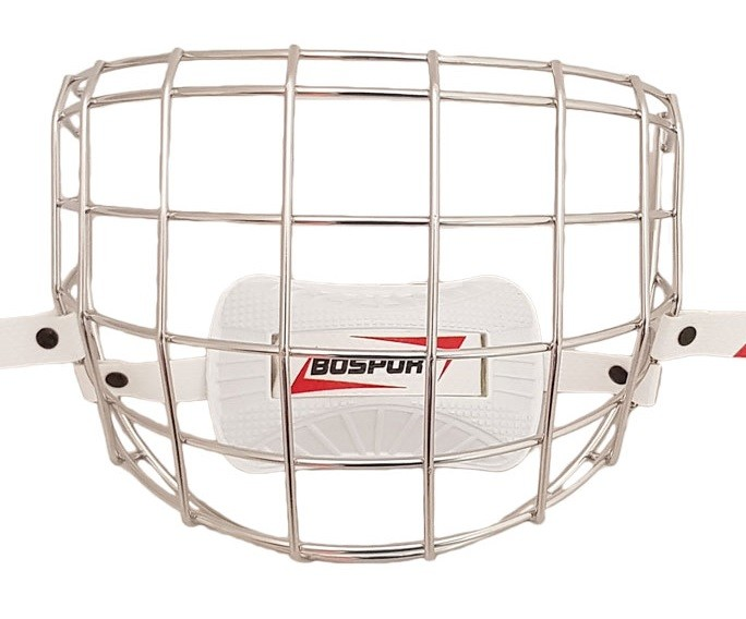 BOSPORT Face Protector Stainless Steel Youth Cage