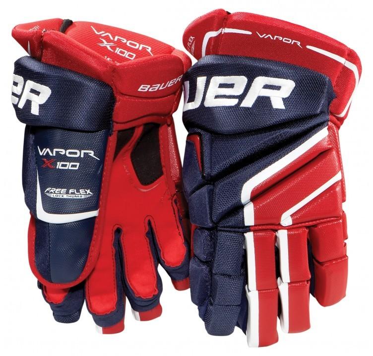 Bauer Vapor X100 Junior Ice Hockey Gloves
