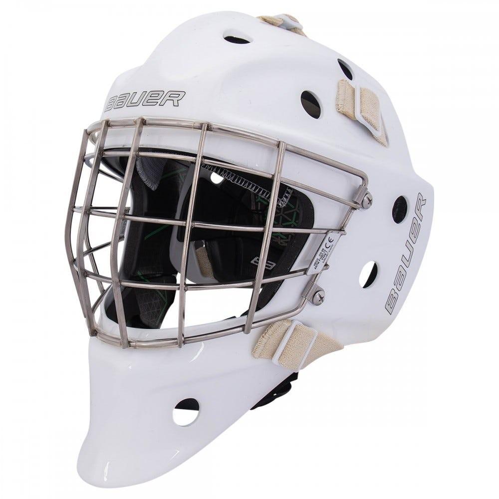 BAUER NME VTX S18 Certified Straight Bar Senior Goalie Mask