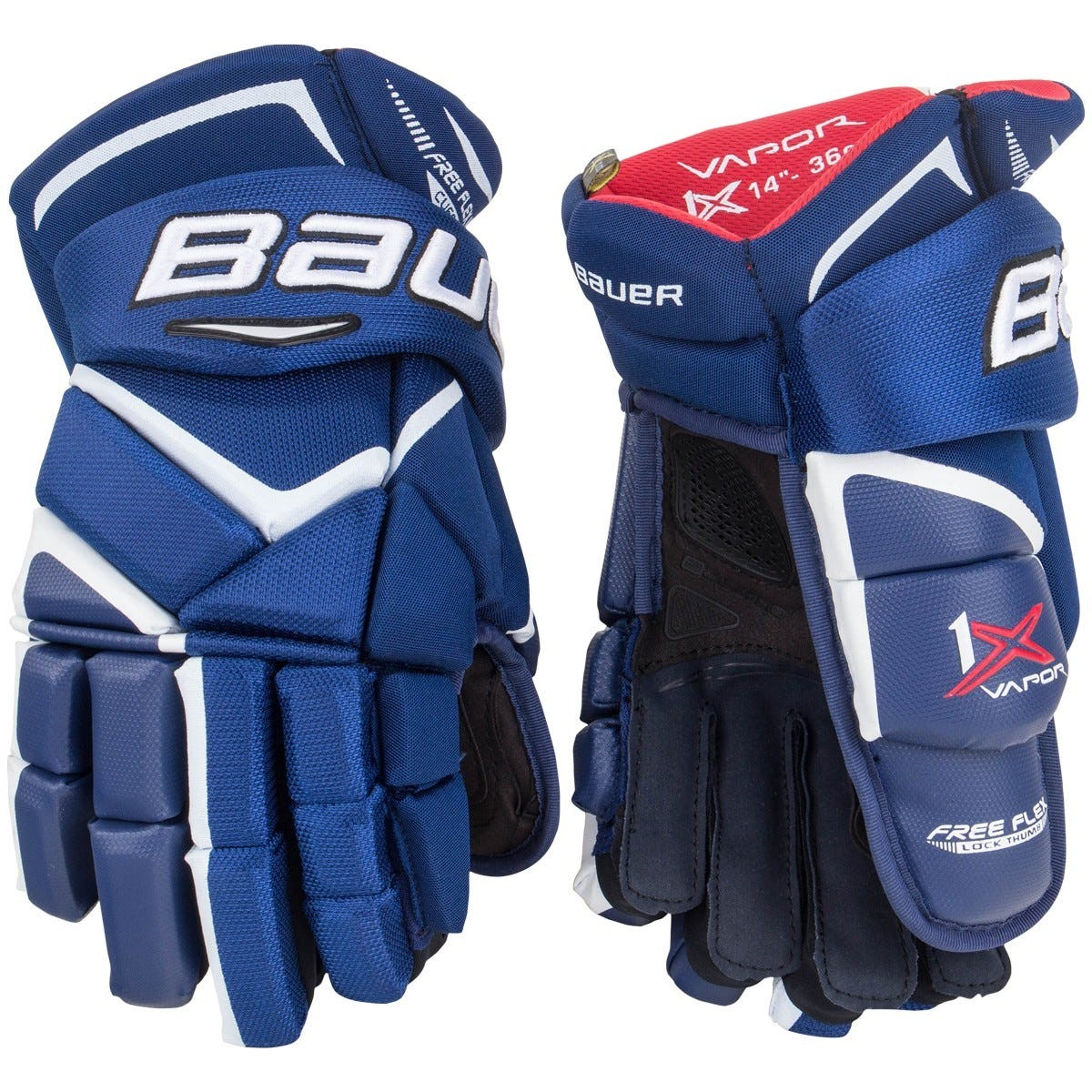 BAUER Vapor 1X Senior Ice Hockey Gloves