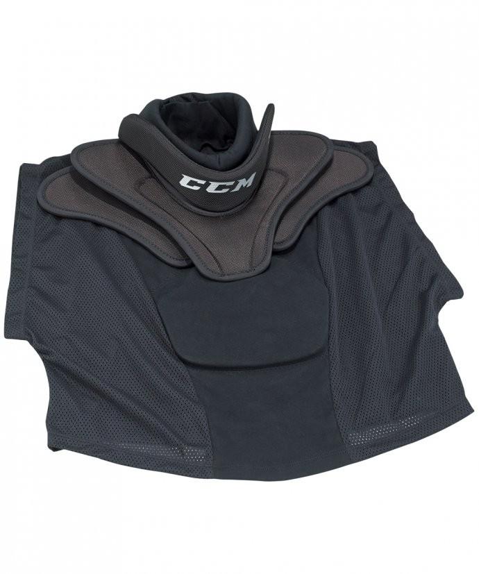 CCM BNQ Shirt Style Throat Pro Junior Collar