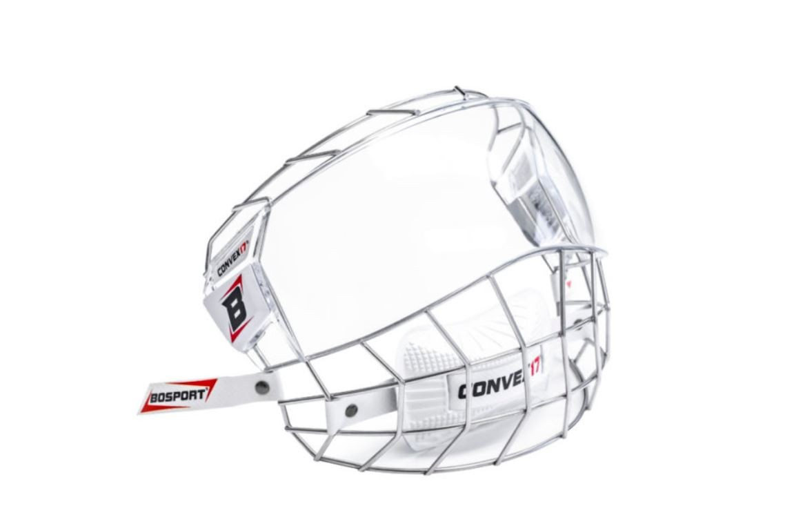 BOSPORT Convex17 Stainless Steel Adult Full Face Protector