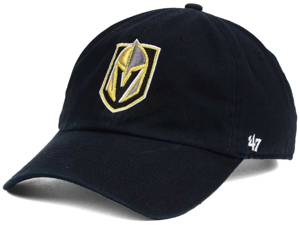 BRAND 47 Las Vegas Golden Knights Clean Up Adjustable Strapback
