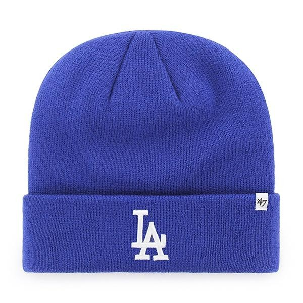 BRAND 47 Los Angeles Dodgers Raised Cuff Knit Winter Hat