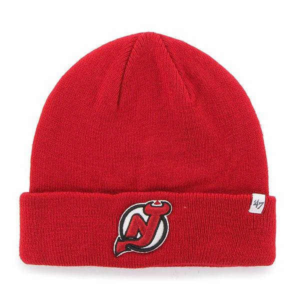 BRAND 47 New Jersey Devils Beanie Cuff Knit Winter Hat