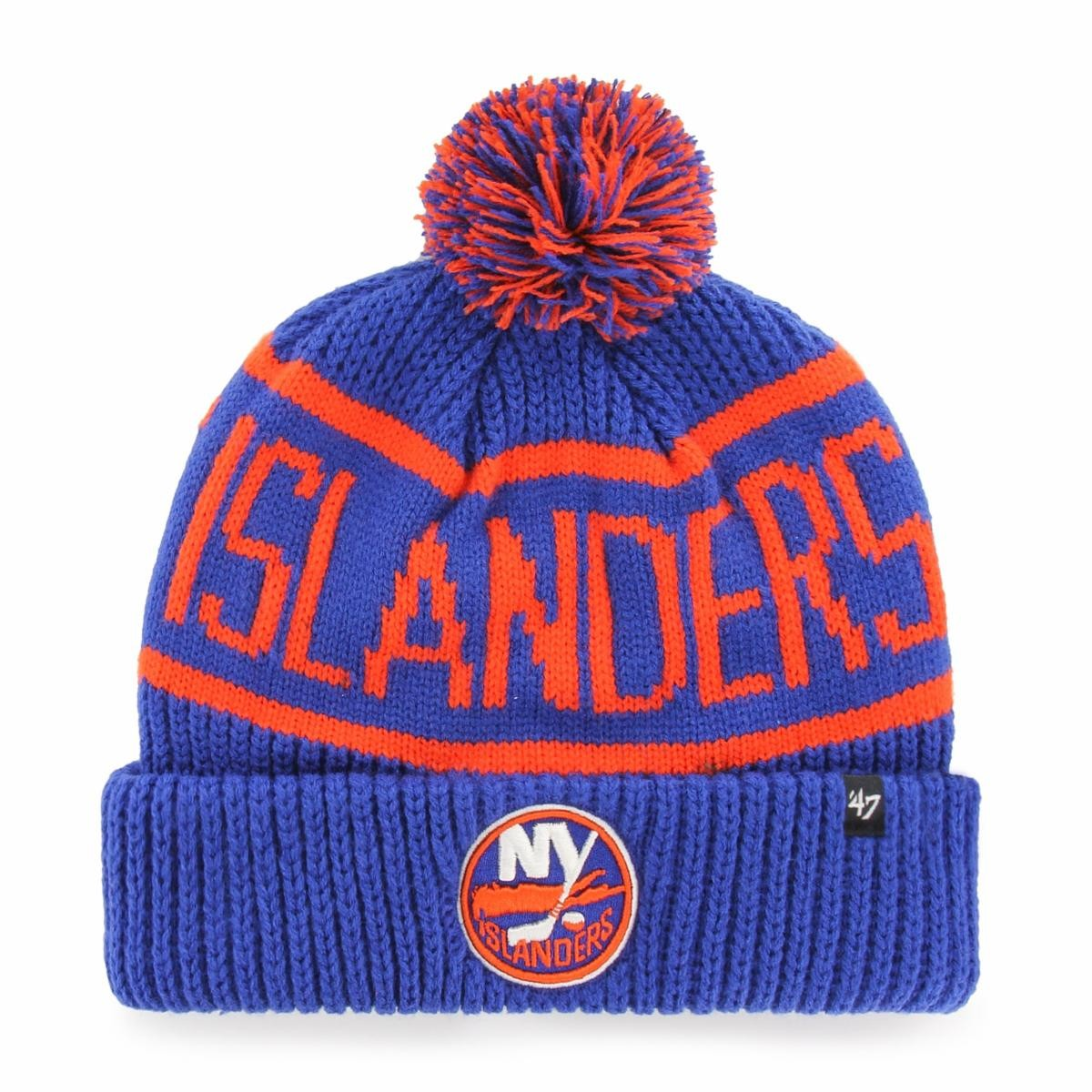 BRAND 47 New York Islanders Calgary Cuff Knit Winter Hat