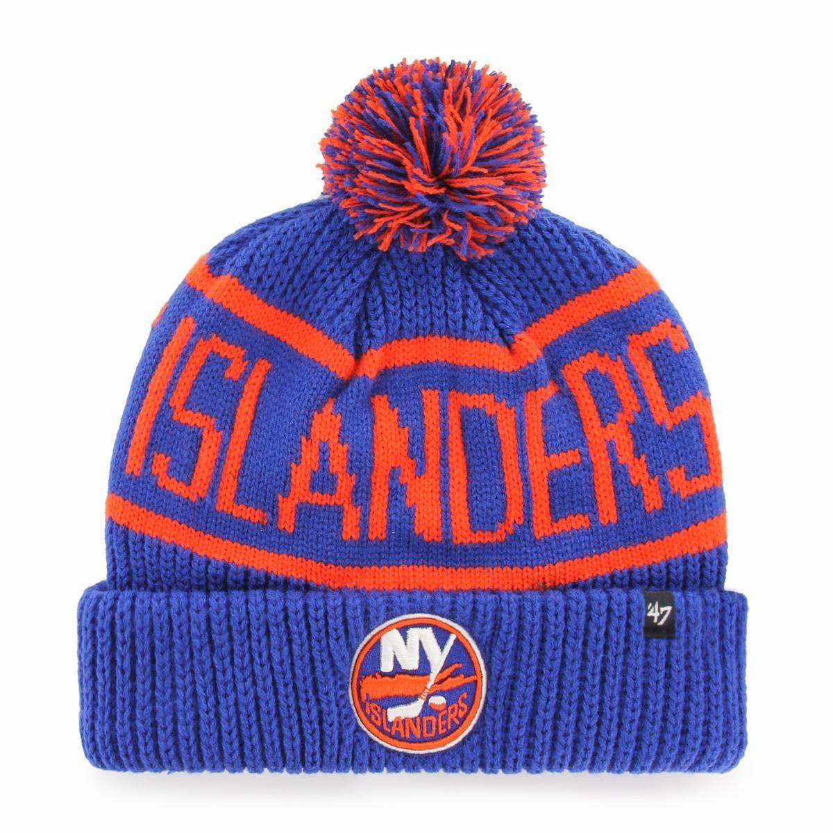 BRAND 47 New York Islanders Calgary Cuff Knit Winter Hat
