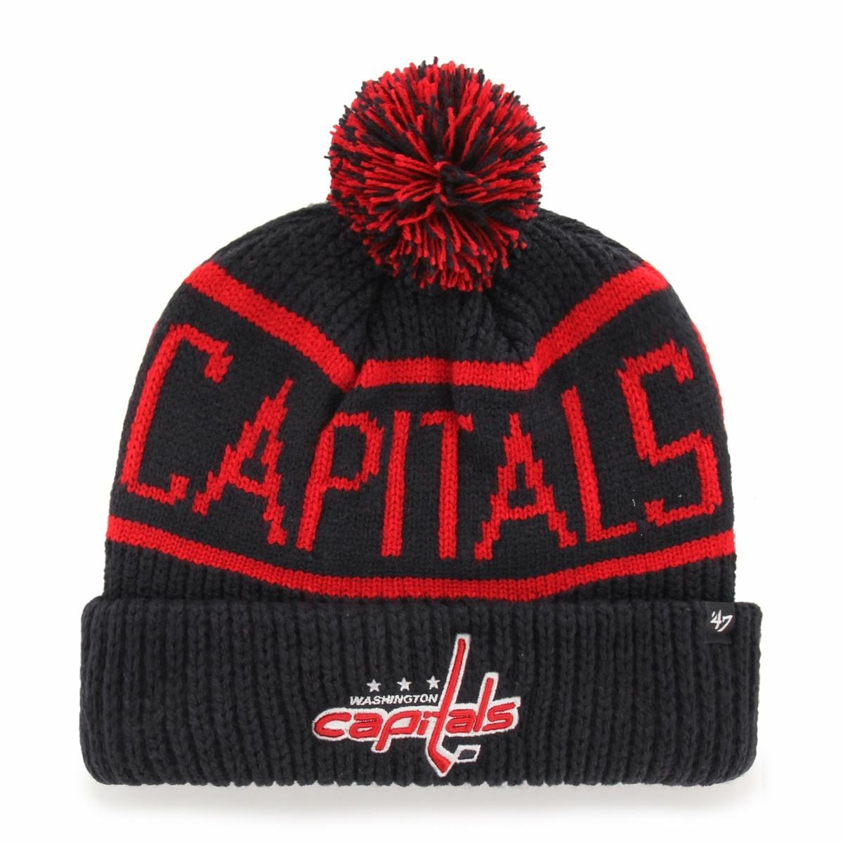 BRAND 47 Washington Capitals Calgary Cuff Knit Winter Hat