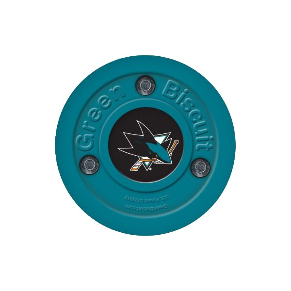 GREEN BISCUIT San Jose Sharks Off Ice Training Hockey Puck