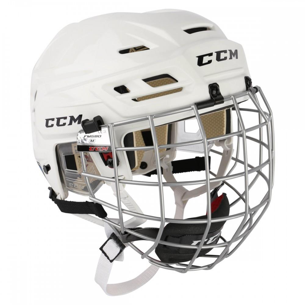 CCM Resistance 110 Hockey Helmet Combo