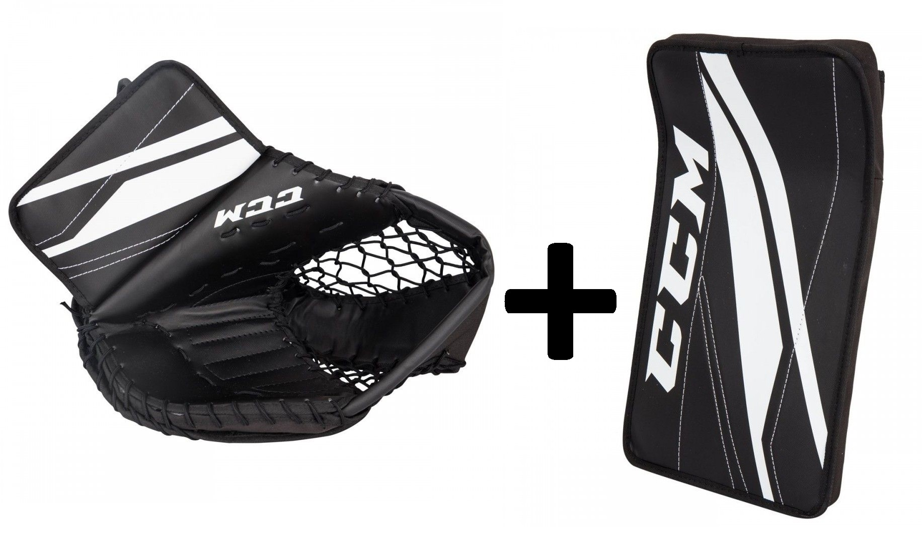 CCM 300 Street Hockey Senior Goalie Glove&Blocker