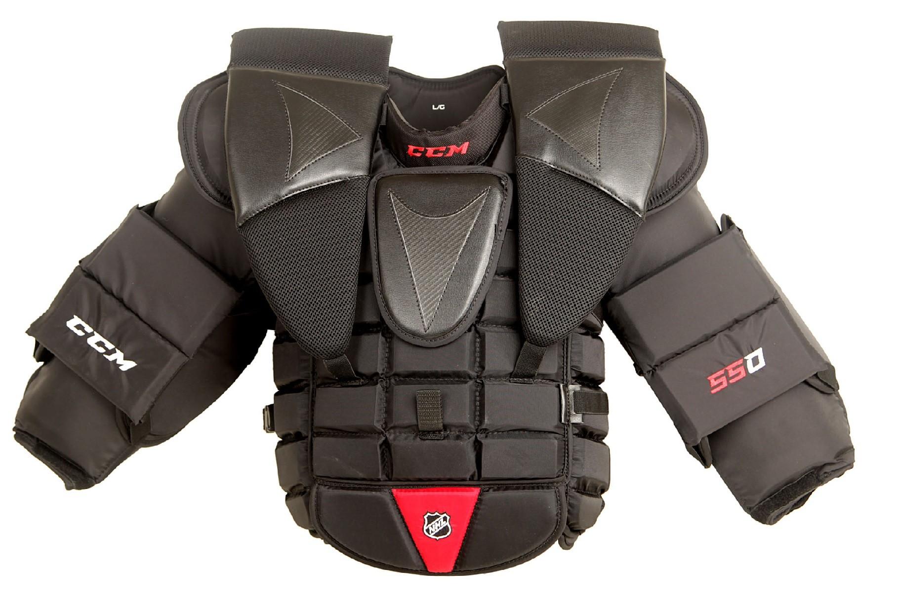 CCM 550 Senior Goalie Chest & Arm Protector