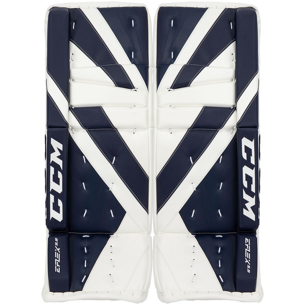 CCM Extreme Flex E5.9 Intermediate Goalie Leg Pads