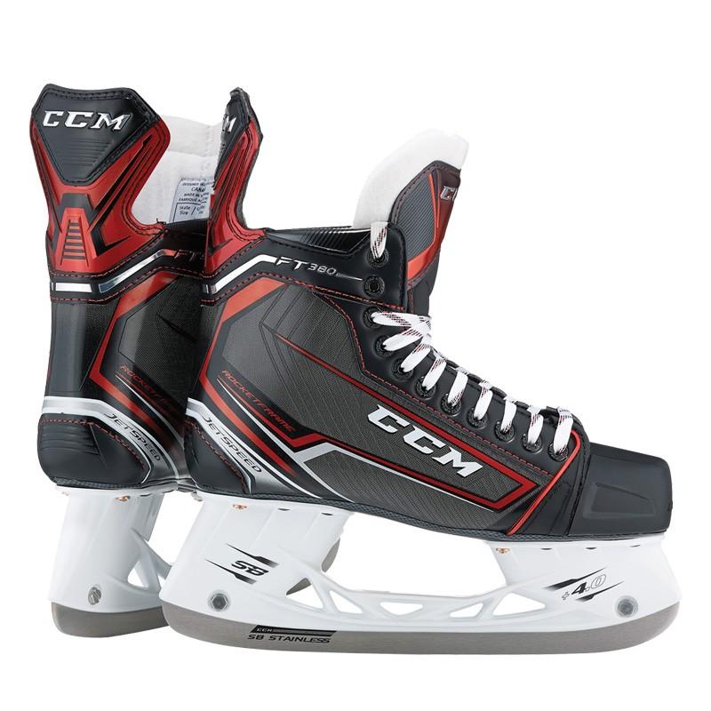 CCM Jetspeed FT380 Junior Ice Hockey Skates
