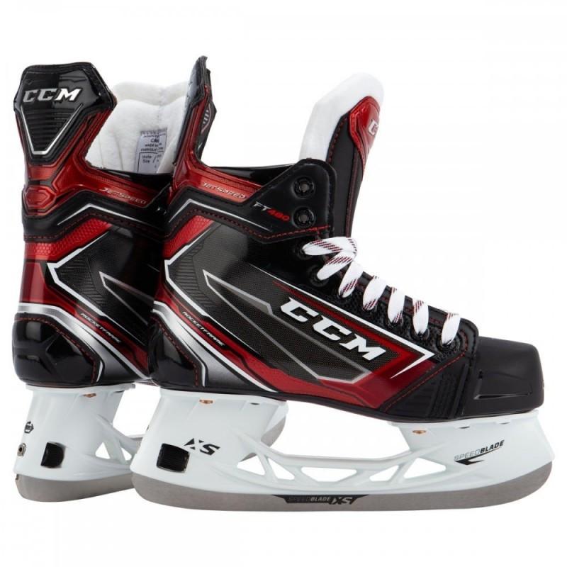 CCM Jetspeed FT480 Junior Ice Hockey Skates