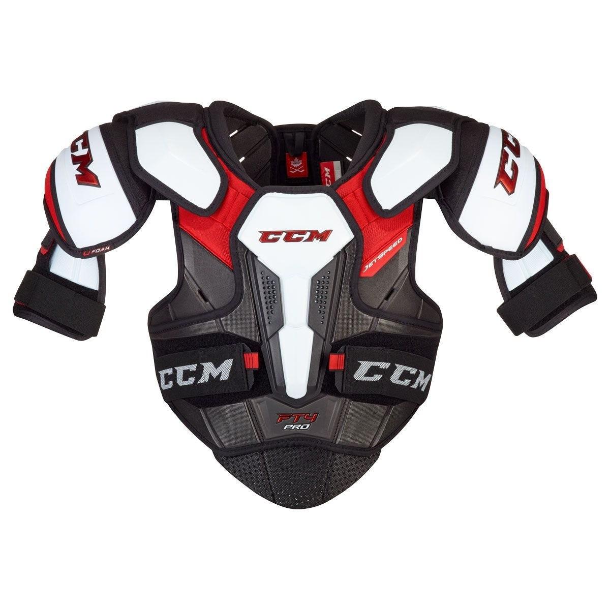 CCM Jetspeed FT4 Pro Junior Shoulder Pads