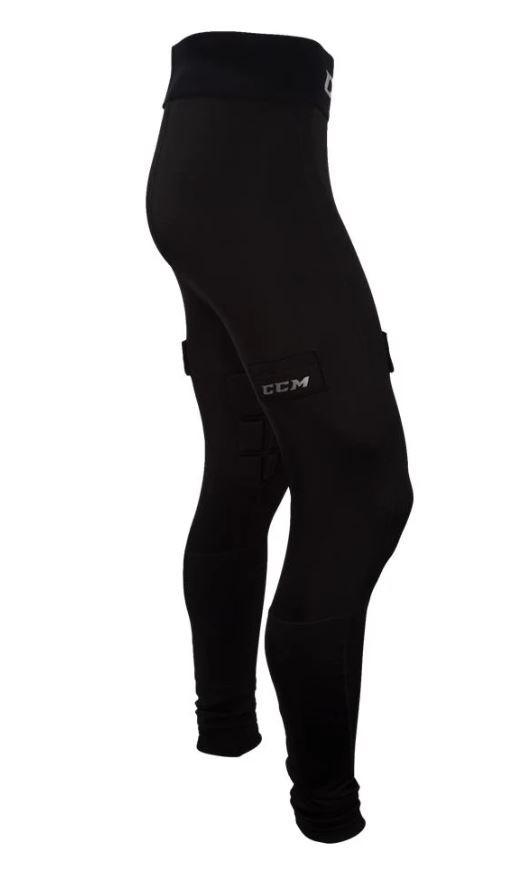 CCM Senior Goalie Compression Padded Pants with Jock