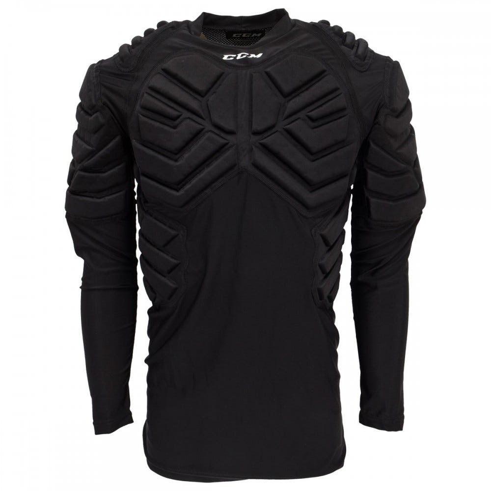 CCM Junior Goalie Long Sleeve Padded Shirt