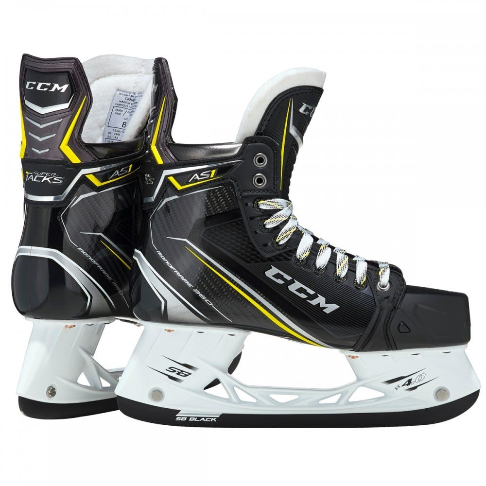 Demo CCM Super Tacks AS1 PRO STOCK Senior Ice Hockey Skates
