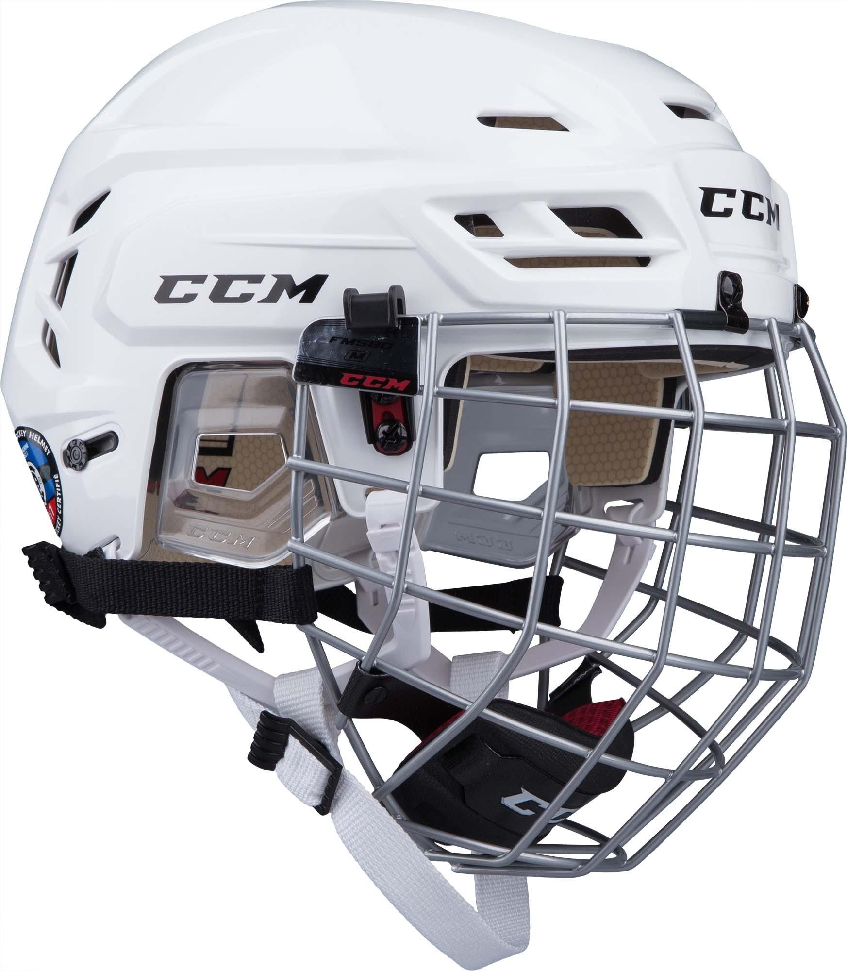 CCM Tacks 110 Hockey Helmet Combo