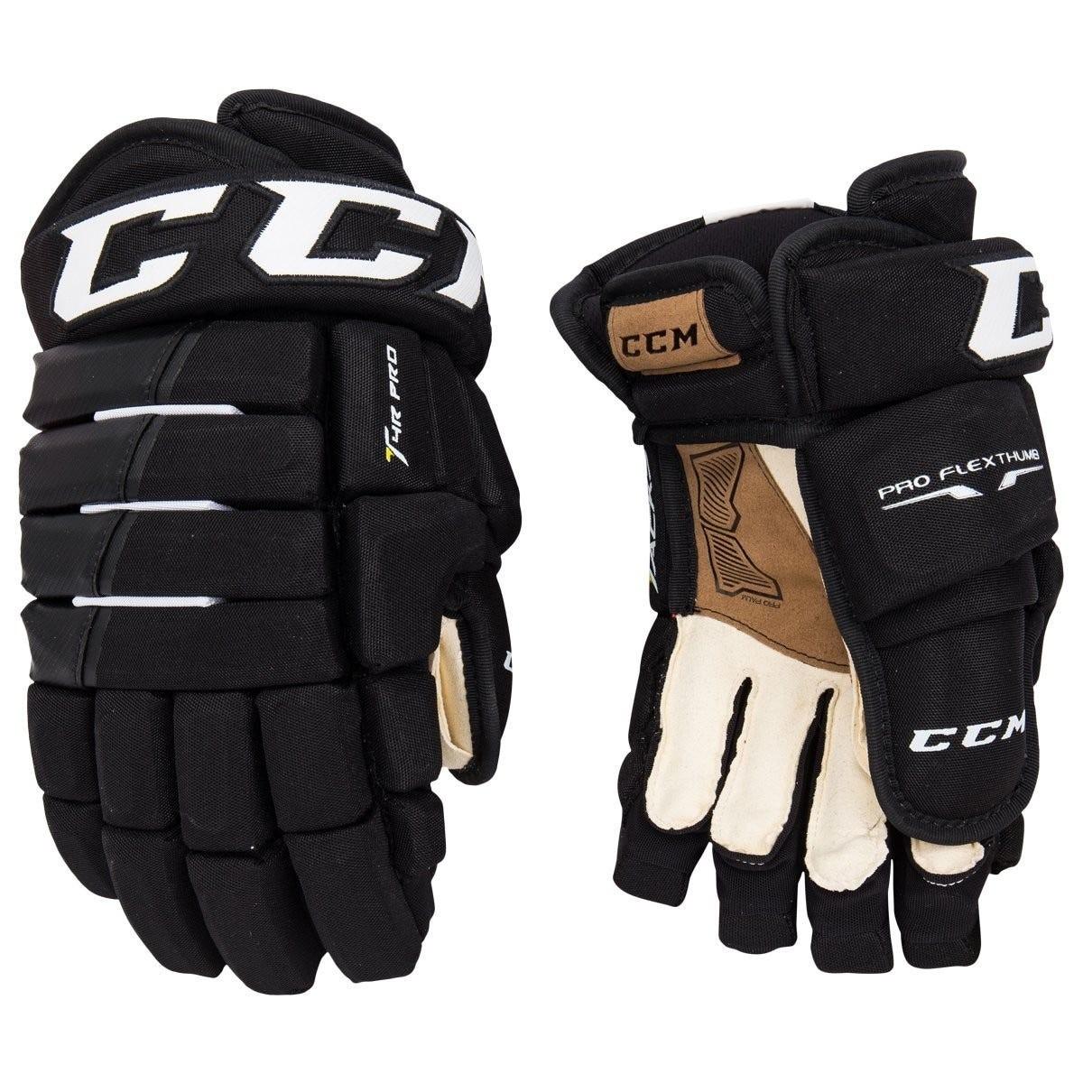 CCM Tacks 4-Roll Pro Senior Ice Hockey Gloves