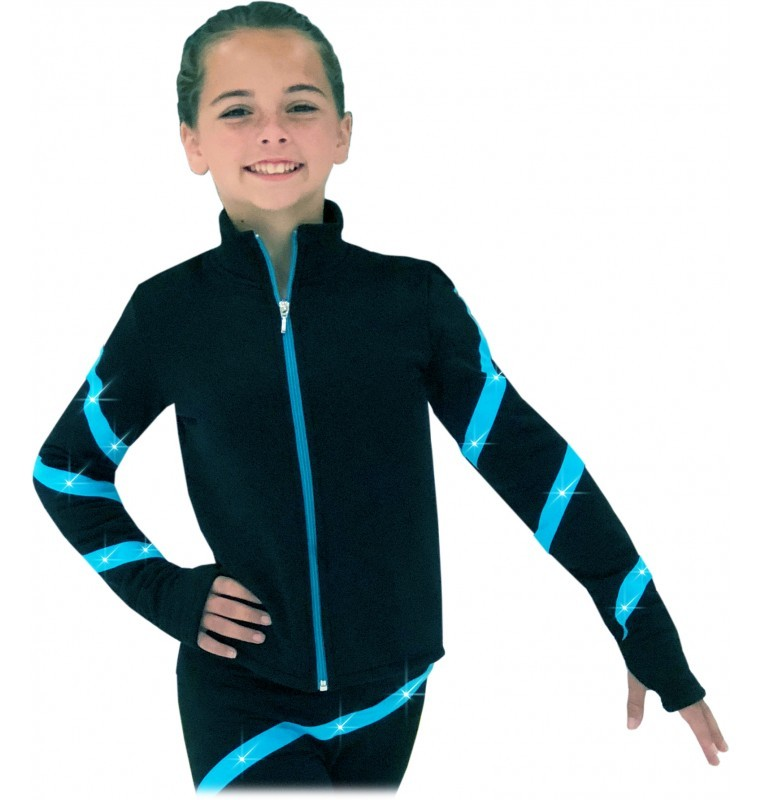 Chloe Noel JS106P Youth Elite Polartec Spiral Fleece Jacket