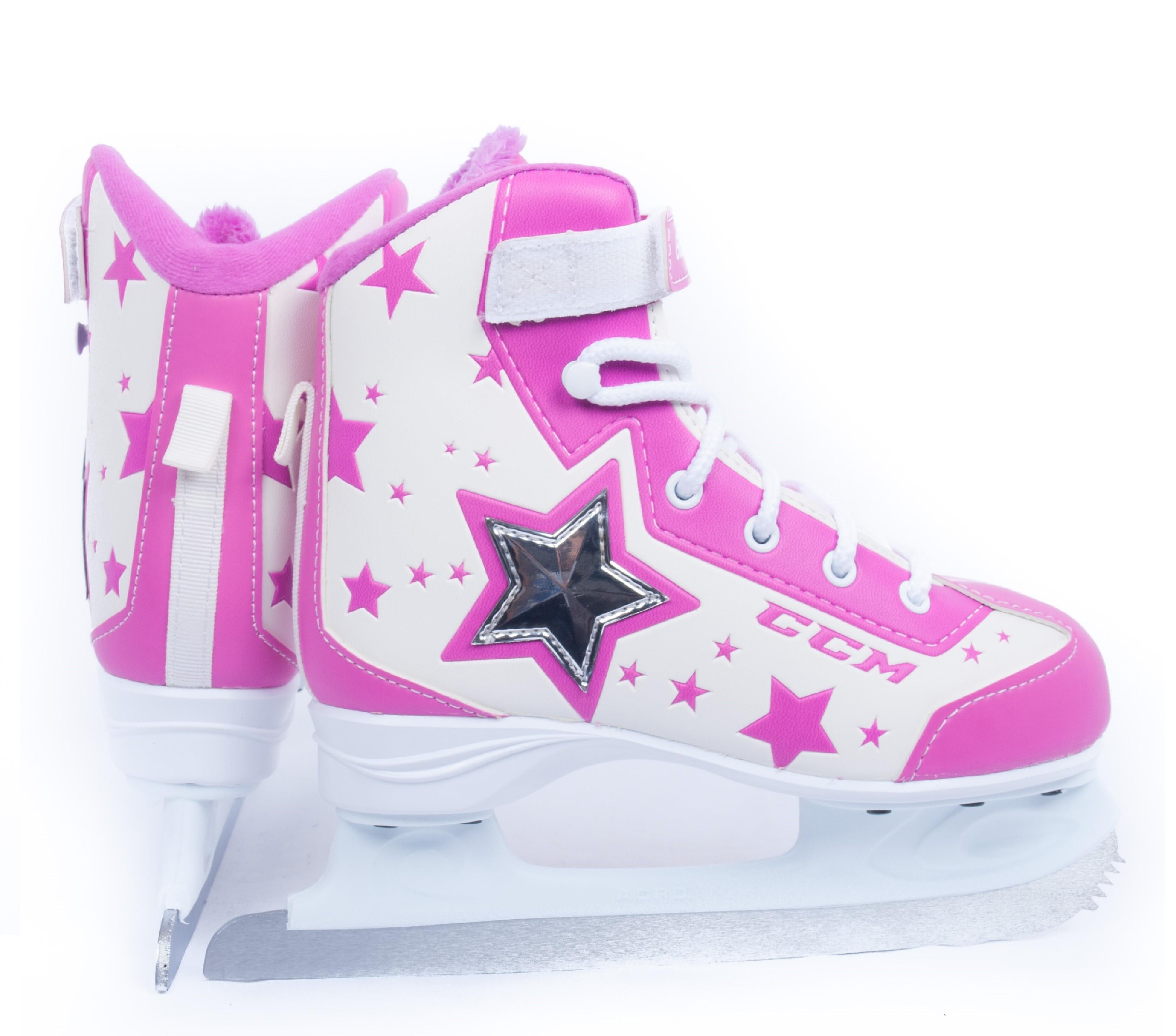 CCM Glitter Girl Girl's Figure Skates