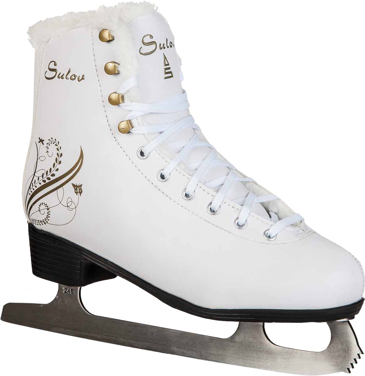 FLORA Sulov Girls Figure Skates